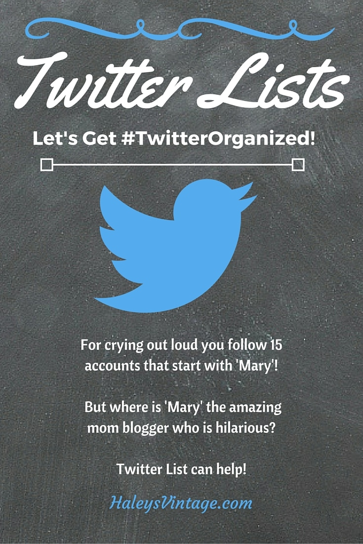Need to Organize Your Favorite Twitter Users? Learn how to use Twitter lists and save yourself lots of time! #TwitterTips #Blogging