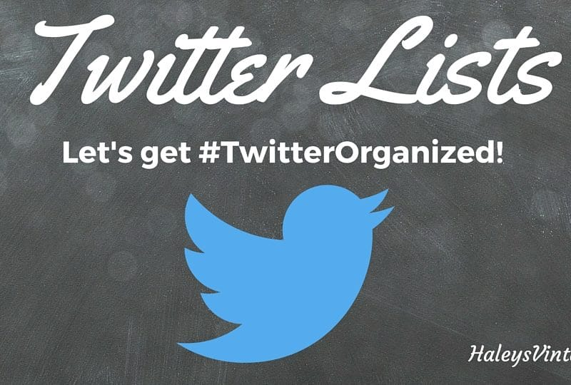What are Twitter List?