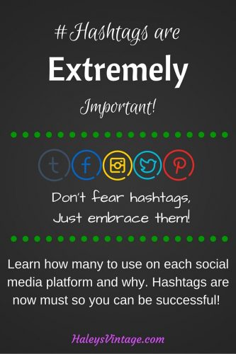 Hashtags are not something you need to fear! Learn how many to use on each social media platform and why, when to use them, and other great tips!