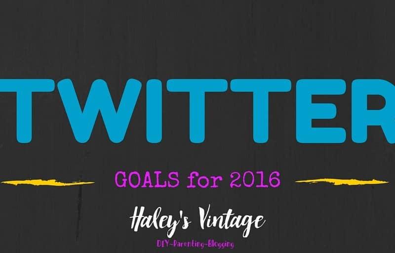 Twitter Goals
