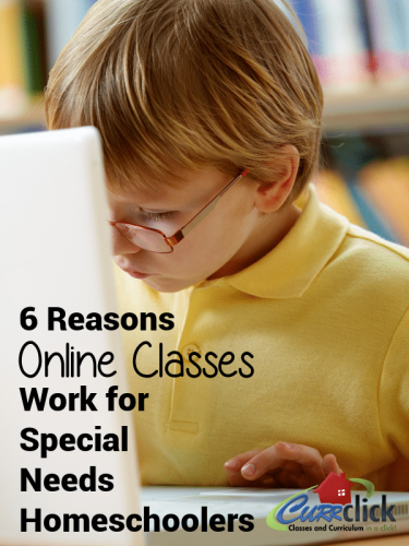 Six Reasons Live, Online Classes Work for Special Needs Homeschoolers