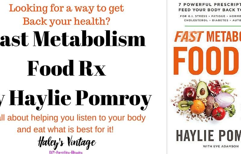 While looking for ways to increase my energy, metabolism, and regulate hormones, I came across Fast Metabolism Food RX and see what I thought about it!