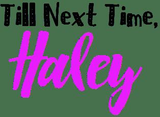 Haley Signature