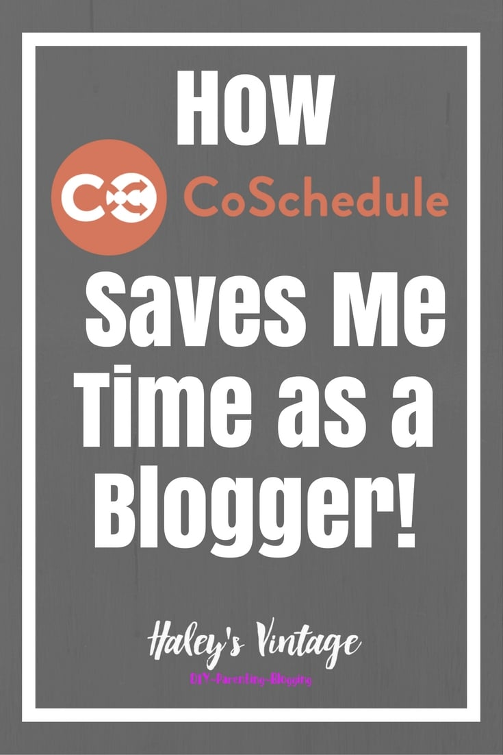 My life is hectic! I have been looking for the perfect solution to save time, and I have found it! Learn how CoSchedule saves me time as a blogger.