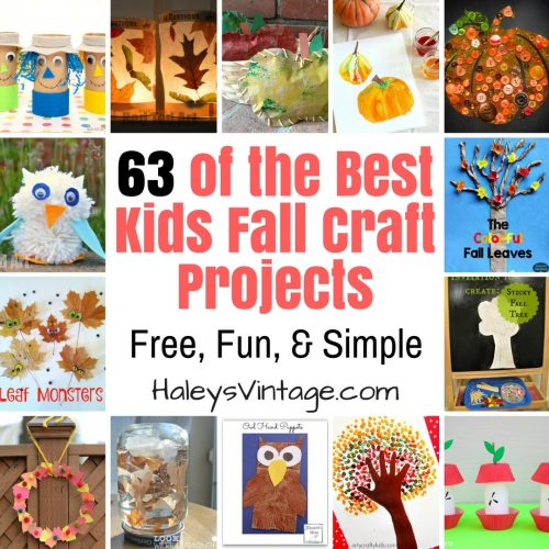 63 of the Best Kids Fall Craft Projects