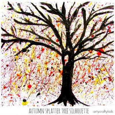 Autumn Splatter Tree