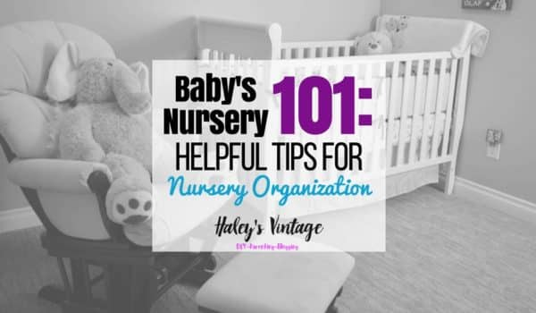 Tips for Nursery Organization: Are you soon to be a new parent? You have many concerns and worries, but how to organzines the nursery shouldn't be one of them. With these simple and helpful tips for Nursery Organization, you'll ready and prepared to bring your new baby home.