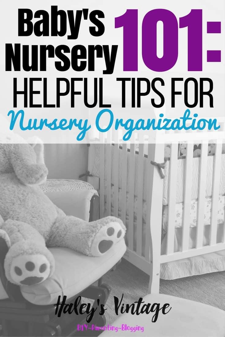 Baby s nursery 101 helpful tips for nursery organization - Baby room organization tips ...