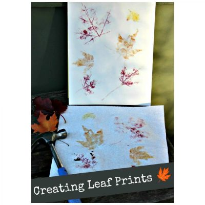 Creating Leaf Prints