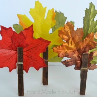 Easy Fall Craft in Less than 5 Minutes
