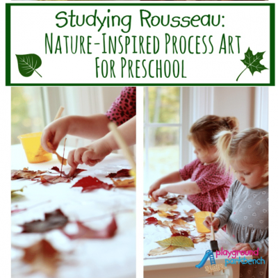 Nature-Inspired Process Art for Preschool