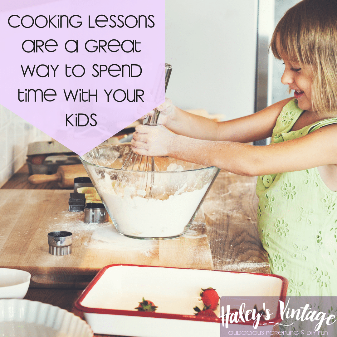 One of the hardest jobs in the world is raising kids, but how can you be the best parent you can be? Cooking lessons are a great start!