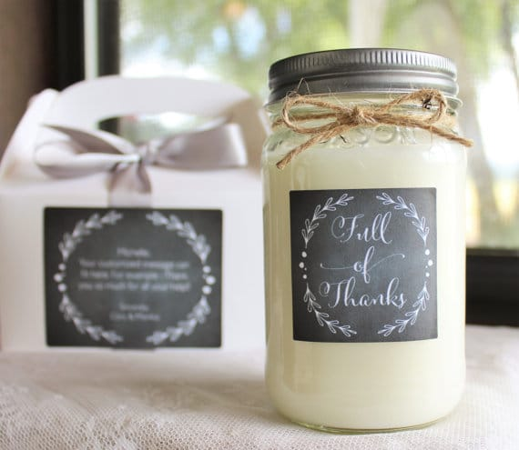 Unique Gifts for Tired Mom to Show You Care - A personalized candle to mom would make her day and show her you care for all she does!
