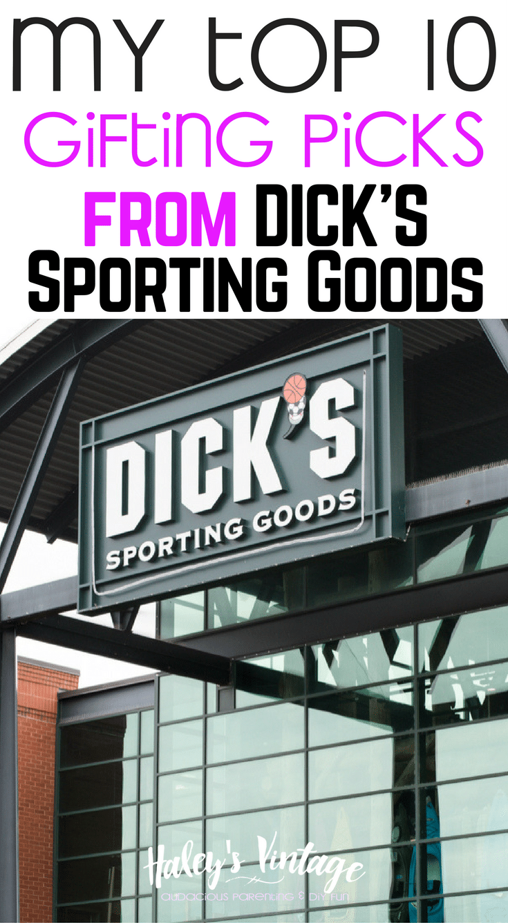 Do you have a special someone on your list who loves the outdoors? I had a blast shopping at DICK'S Sporting Goods and you can too!