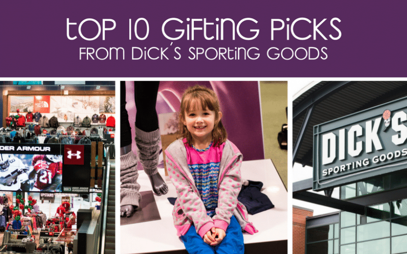 My Top 10 Gifting Picks from DICK'S Sporting Goods – Plus How to Help Youth Sports!