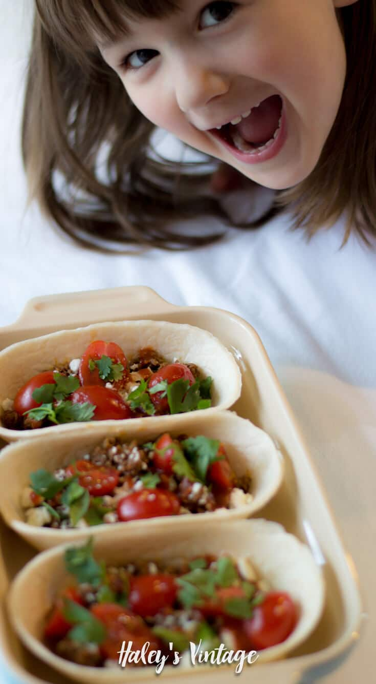 My kids and I love tacos! And, I have found a new obsession with Beef Taco Boats, and I am sure you and your family will love them too!