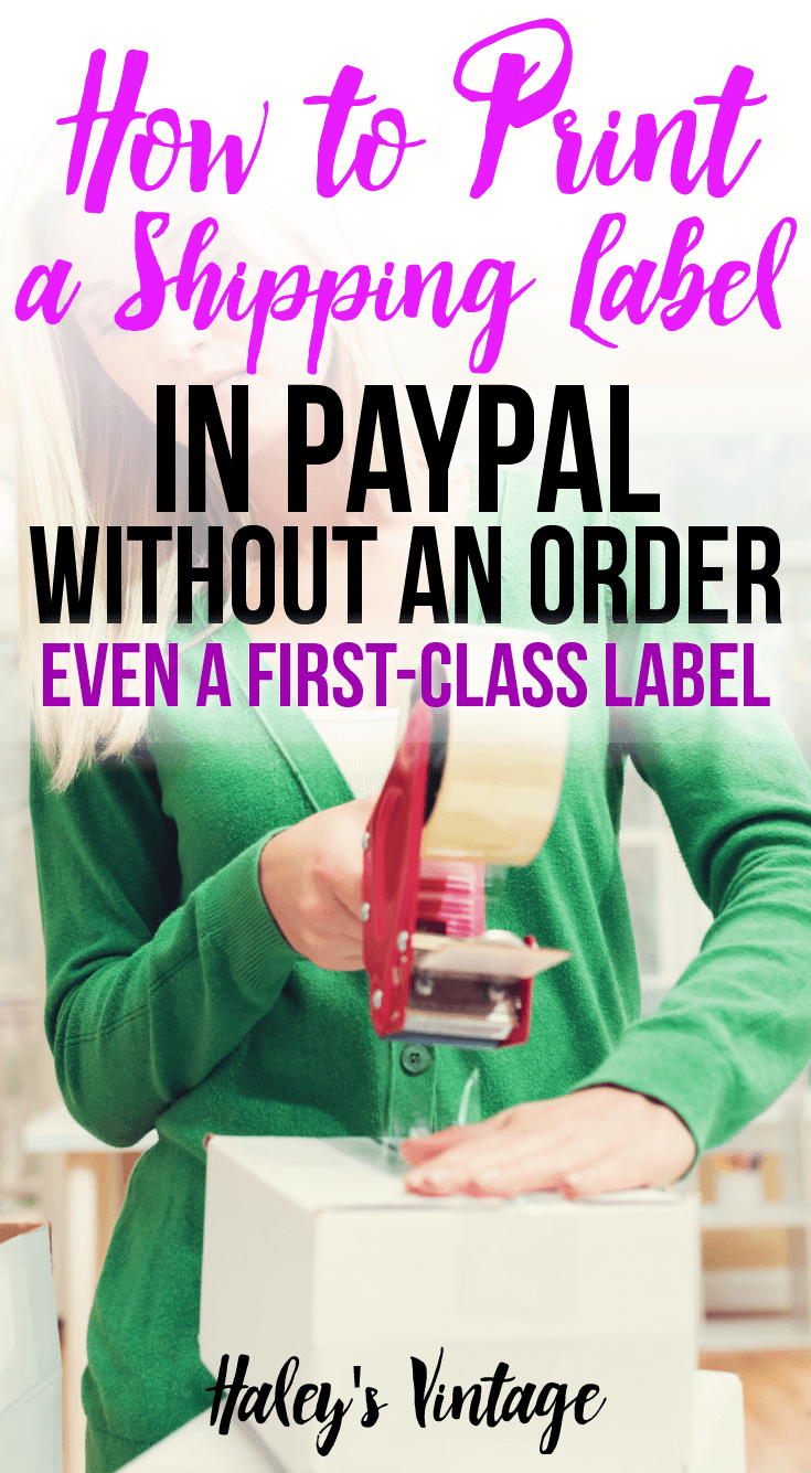 Frustrated that you cannot print First Class shipping label from USPS.com? Open now and learn how to print a shipping label in PayPal without an order.