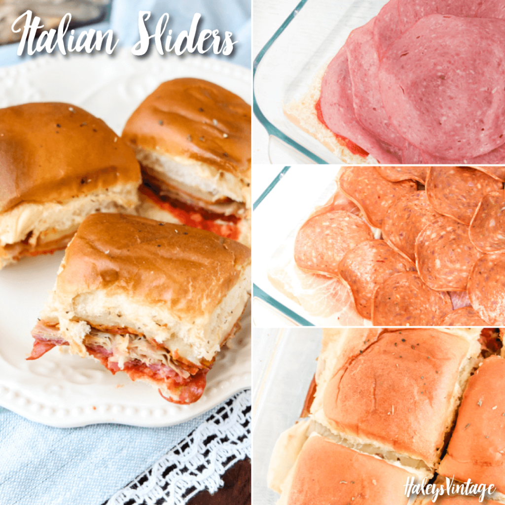 I love these delicious Italian Sliders! They are so easy to make and would be perfect for lunch or even to take to your next potluck.