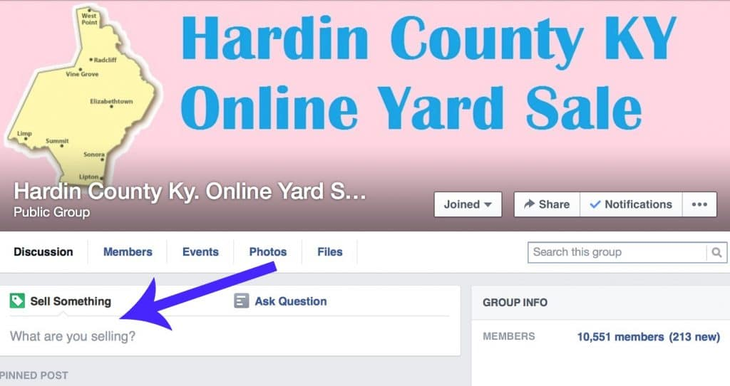 Facebook Yard Sale Groups Tips! Read how I use these to sell items that would be hard ship, find new items to sell, and safety tips. #YardSale #Facebook #HaleysVintage #FacebookYardSaleGroups