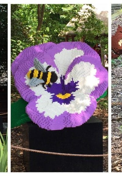 Lego Sculpture Event at Louisville Zoo