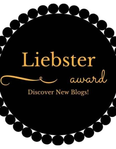 I was very honored to be nominated for the Liebster Award. #Liebster #Blogging