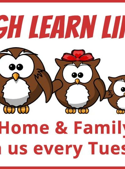 Laugh and Learn Linkup for Home & Family {70}