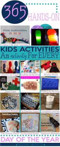 365 DAYS HANDS-ON HOMESCHOOL ACTIVITIES – ONE FOR EVERY DAY OF THE YEAR! by Tina's Dynamic Homeschool Plus