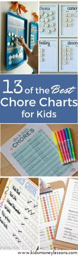 13 of the Best Chore Charts for Kids