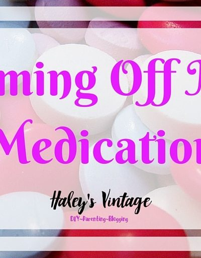 Something has changed recently during my Bipolar Disorder. I am going off my medication! Let me tell you how it is affecting me so far and why my doctor and I decided to try this.