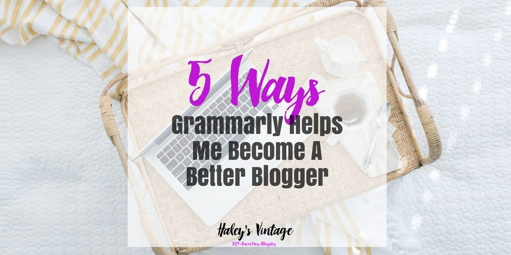 Do you struggle with grammar in your blog posts? Let me share with you how Grammarly helps me become a better blogger, and you can be a better blogger too!