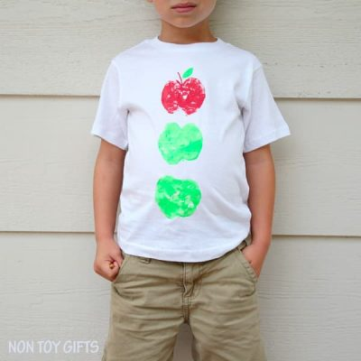 Apple Printed T-Shirt