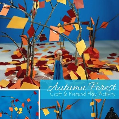 Autumn Forest Craft & Pretend Play