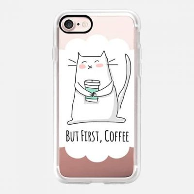 But First Coffee Phone Case