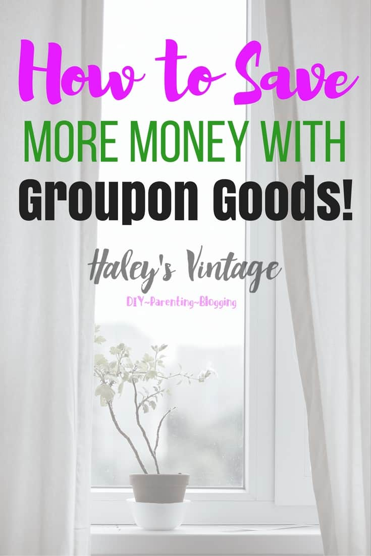 As a mom of three, how do I save money without losing my sanity? One way I rack up the savings is by shopping with Groupon Goods!