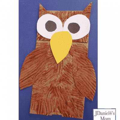 Owl Hand Puppets