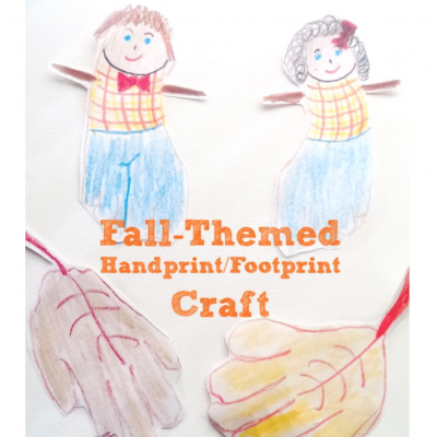 Fall Handprint and Footprint Crafts