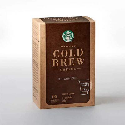 Starbuck Cold Brew Pitcher Packs