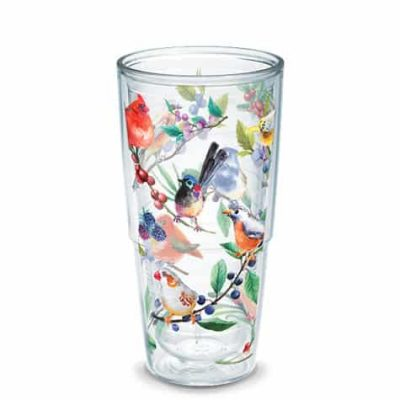 Tervis Watercolor Songbirds