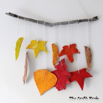 Clay Leaf Mobile