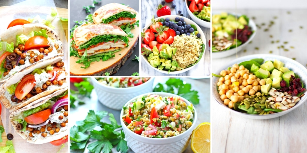 Are you tired of boring lunch recipes? Today I'm sharing twenty healthy lunch recipes for work that will bring excitement back to your lunch break!