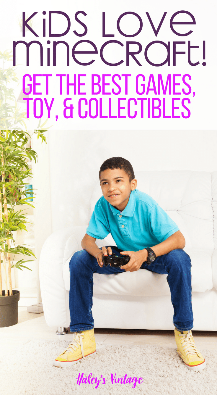 Do your kids love Minecraft? Mine do! I'm sharing my favorite games and collectibles made for your Minecraft addicts! You'll want to read this...