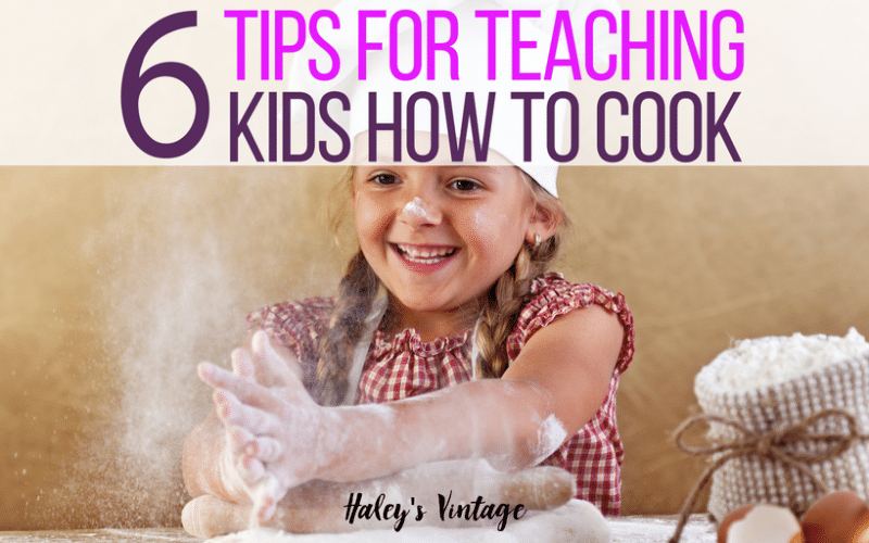 6 Tips for Teaching Kids How to Cook
