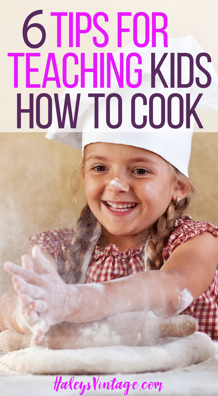 Are you ready to start your little ones in the kitchen with you? With my 6 Tips for Teaching Kids How to Cook, it will be an easy and fun experience you both!