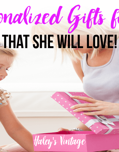 Top 5 Personalized Gifts for Mom That She Will Love!