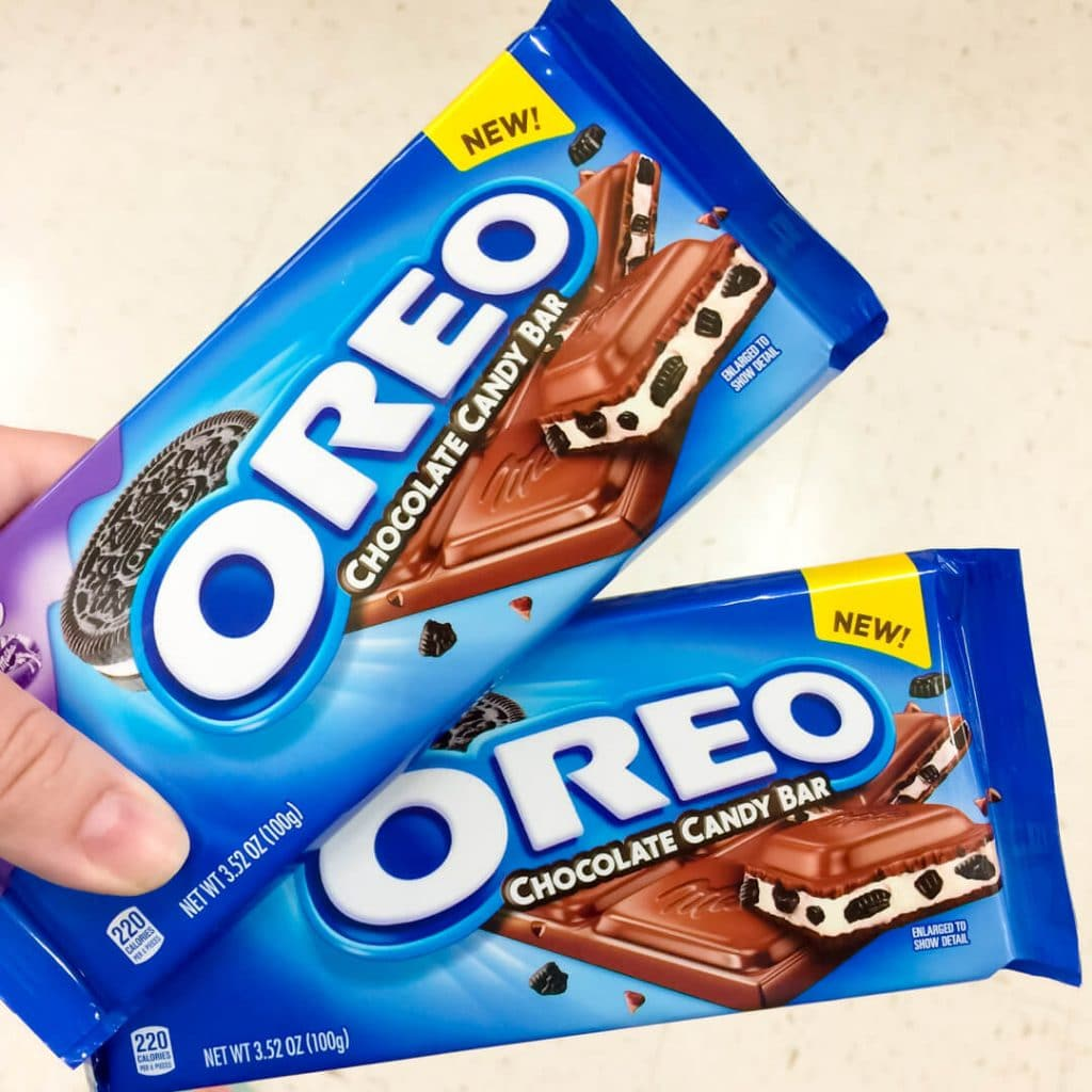 Spoil Yourself With A Delightful MILKA OREO Chocolate Candy