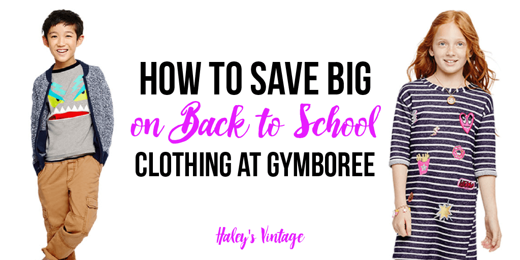 How to Save Big on Back to School Clothing at Gymboree
