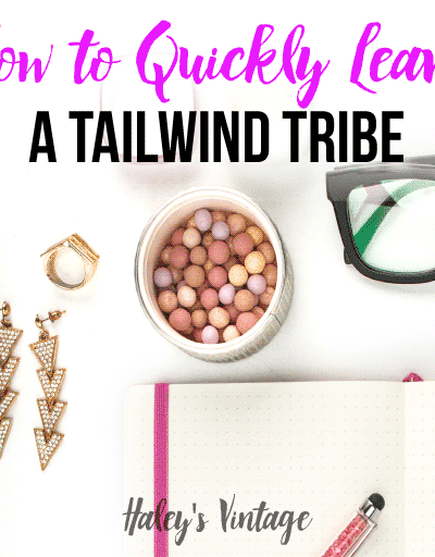 I am going to tell you how to leave a Tailwind Tribe! It is crazy easy, and you will finally be able to be in just the blogging tribes that work for you.