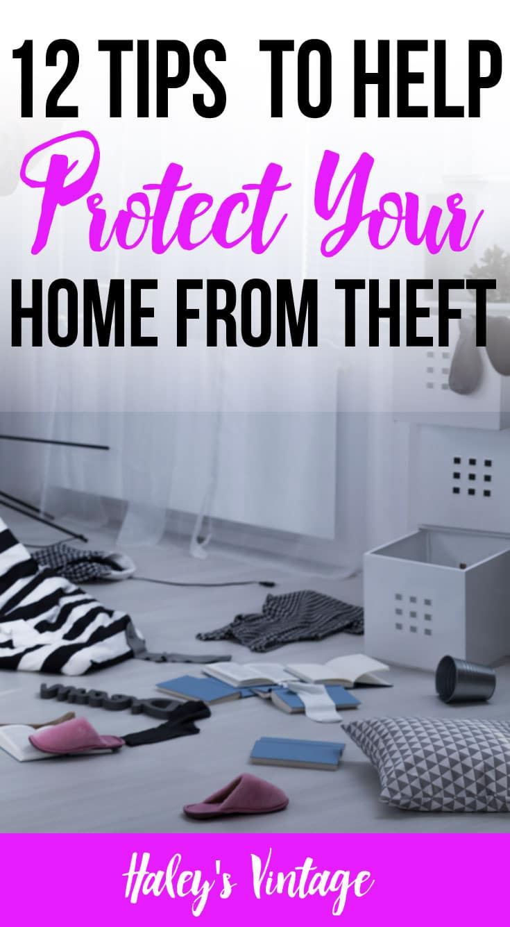 Theft is everywhere! But what can you do to minimize the chance your home will be targeted? With these twelve tips, you can protect your home from theft.