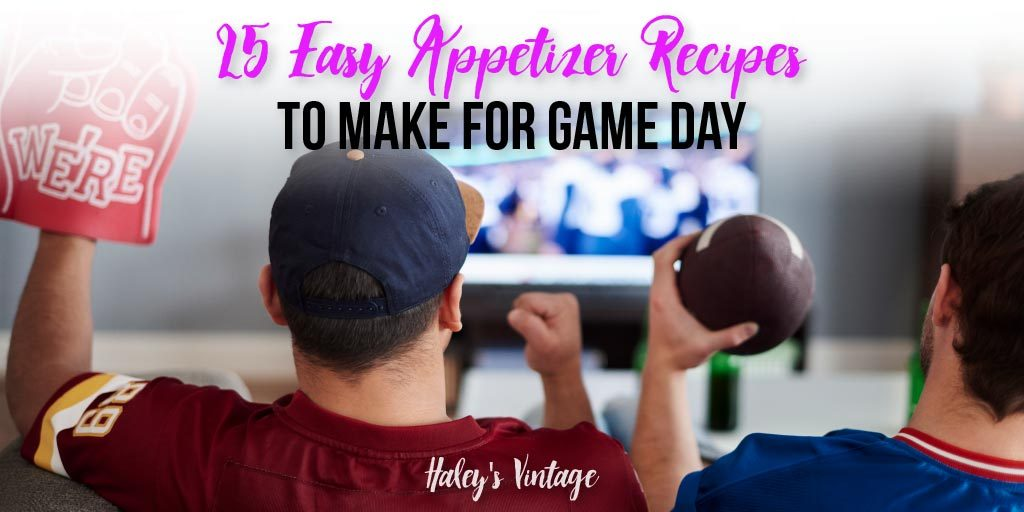 25 Easy Appetizer Recipes to Make For Game Day