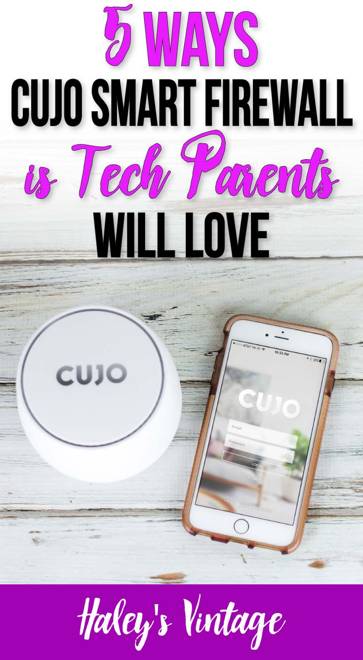 Protecting your home network is a full-time job... especially for parents! Learn why I love using CUJO Smart Firewall to protect our family's home network. #homenetwork #tech